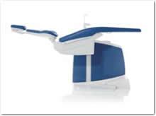 最低ポジション350mm、最高作業ポジション900mmで立位での治療が可能