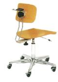 技工椅子 (木製タイプ)