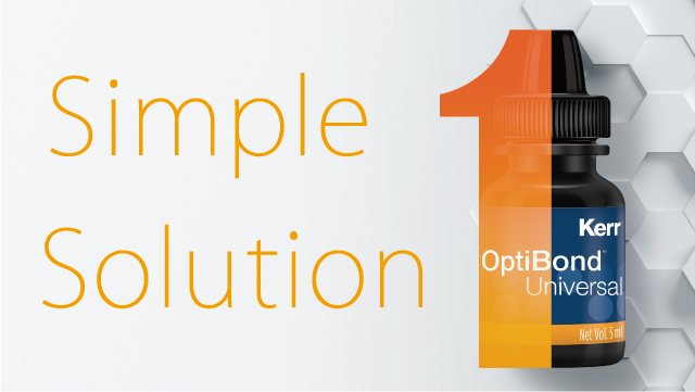 Optibond Universal - Simple Solution